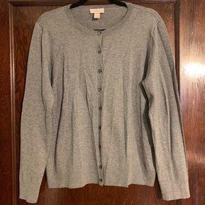 Gray Loft Large Cardigan Sweater